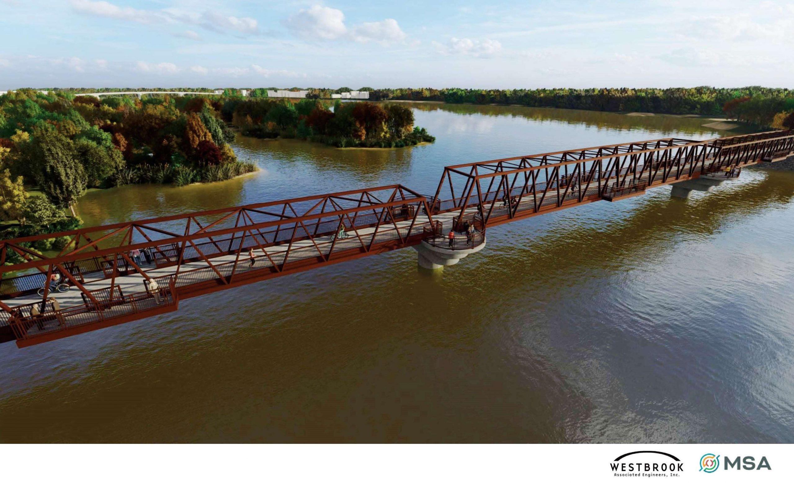 Wisconsin River Recreation Bridge
